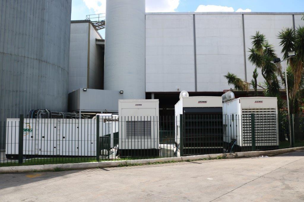 Central de geradores